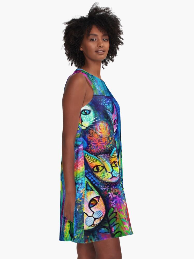 Alternate view of Magicats A-Line Dress