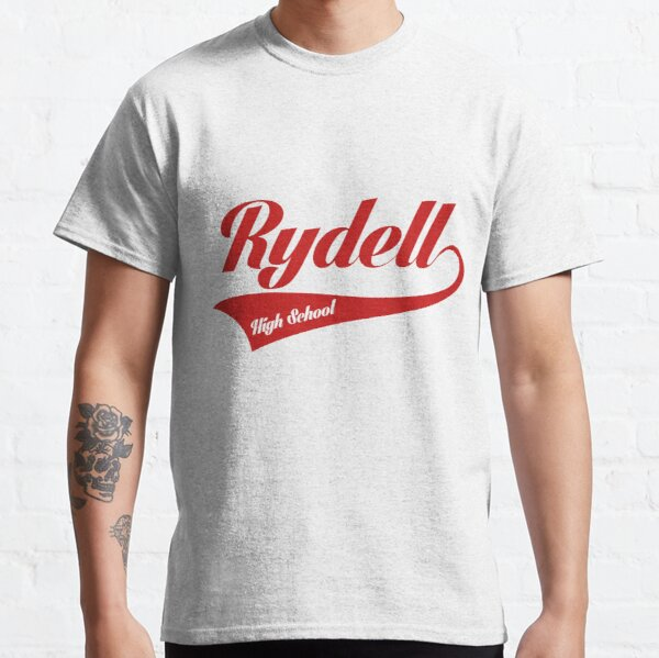 RYDELL HIGH SCHOOL MENS T SHIRT TEE COOL GREASE DANNY SANDY T BIRDS PINK LADIES