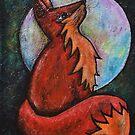 Full Fox Moon by DaysEndStudio