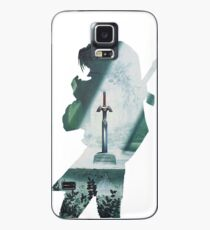 Funda/vinilo para Samsung Galaxy Maestro espada héroe