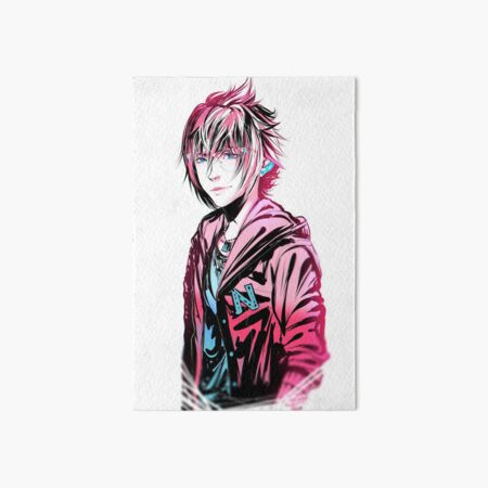 Pinch of Blue, Dash of Pink Noct Ver. Art Board Print