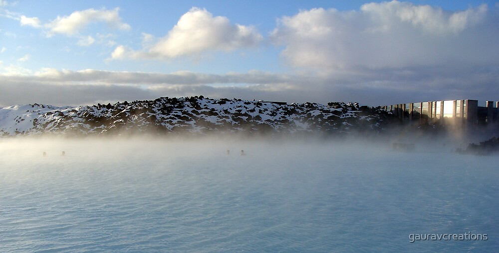 Blue Lagoon, Iceland by Gaurav Dhup