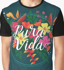 Pura Vida (script) Graphic T-Shirt