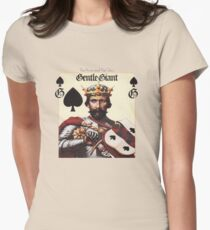 Gentle Giant - The Power and The Glory Women's Fitted T-Shirt