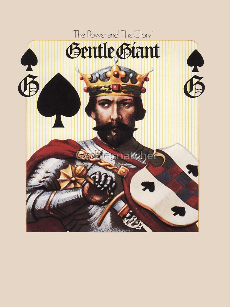 Gentle Giant - The Power and The Glory | Unisex T-Shirt