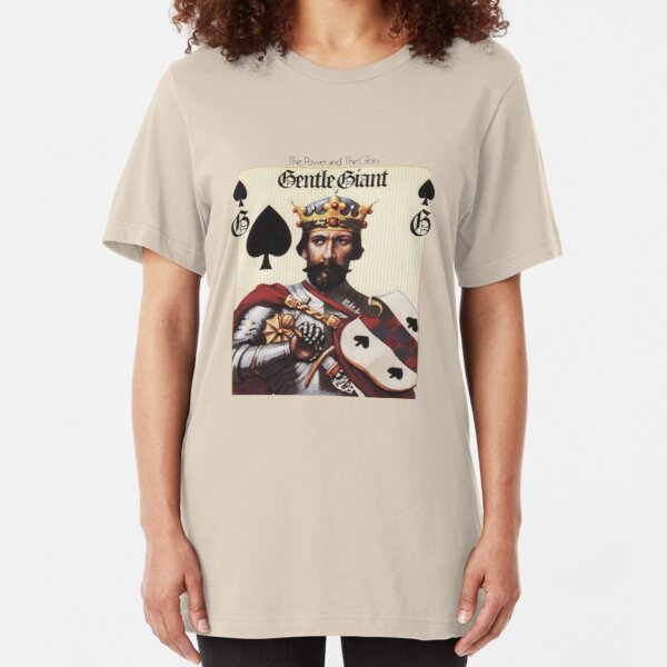 Gentle Giant - The Power and The Glory Slim Fit T-Shirt