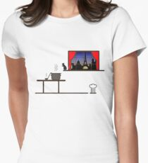 Ratatouille Womens Fitted T-Shirt