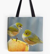 Hey You.. I Am Definitely Not Sharing!!  - Silver-Eye - NZ Tote Bag