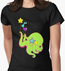 Rad Ocotopus Women's Fitted T-Shirt