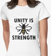 Unity Is Strength Womens Fitted T-Shirt
