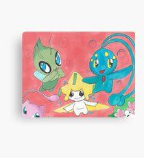 Pokemon Cuties Canvas Print