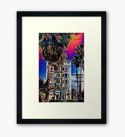 LA Vibes Framed Print
