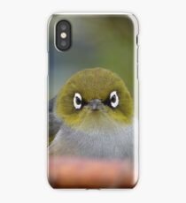 Silver-i-Phone Case - Silver-Eye - NZ iPhone Case/Skin