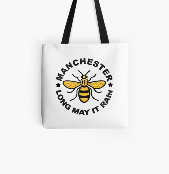 Manchester Bee tote bag gift