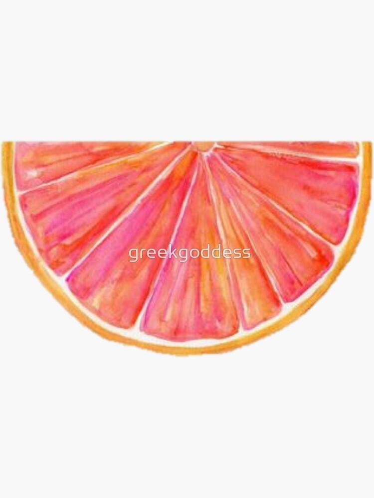 Watercolor Citrus by greekgoddess