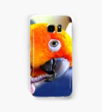Sunshine.. Sun Conure iPhone Case... NZ Samsung Galaxy Case/Skin