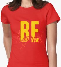 Be Different (Yellow) Womens Fitted T-Shirt