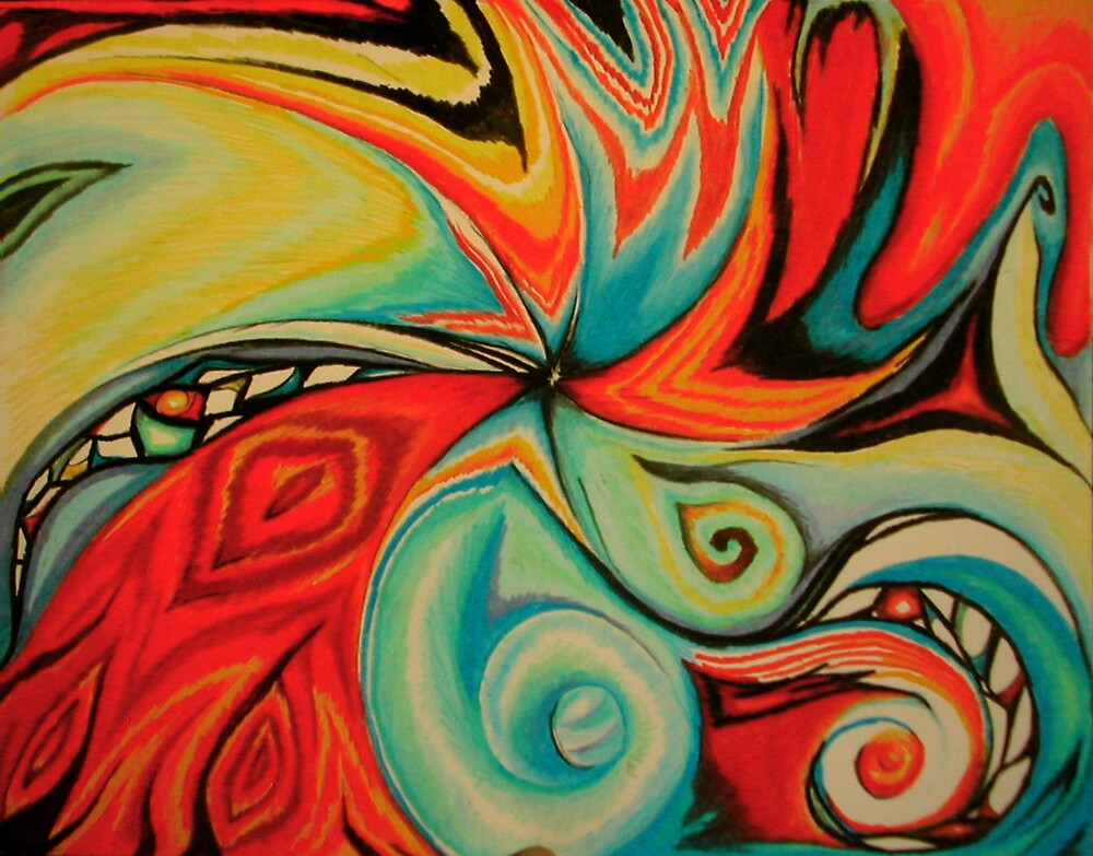 Color Swirl 1 by GaeaElf