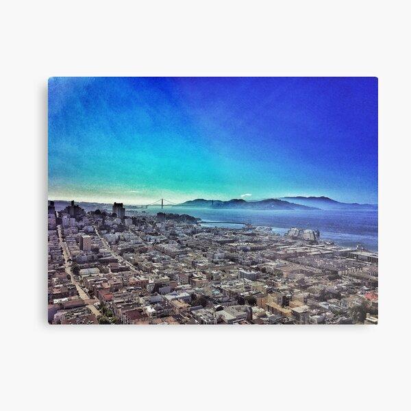 San Francisco 4/13/16 #1 Metal Print