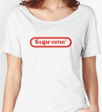 Nintendo Supreme Women's Relaxed Fit T-Shirt