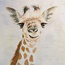 Giraffe by Dominika Aniola