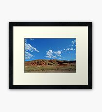 The Painted Hills Framed Print