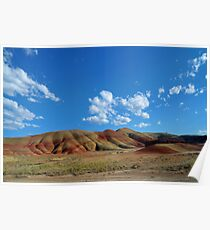 The Painted Hills Poster