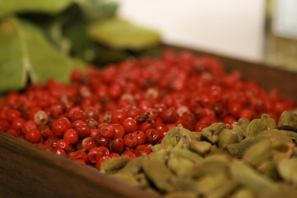 Pink Pepper & Cardamom  by sarah brown