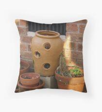 Pots Throw Pillow