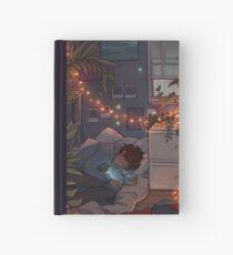 Cuaderno de tapa dura Labios azules