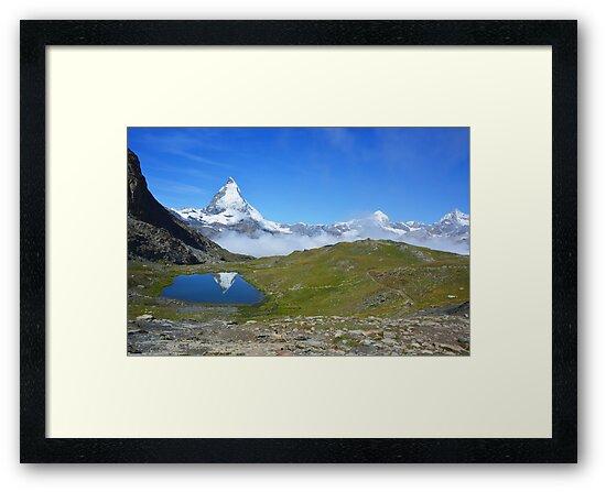 Riffelsee in Zermatt, Kanton Wallis, Schweiz by Fanny88Sheepy86