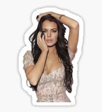 Lindsay Lohan - Celebrity (Oil Paint Art) Sticker