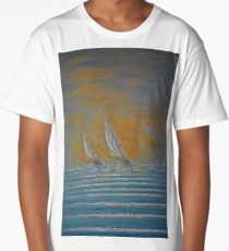 We Are Sailing Across The Water Long T-Shirt
