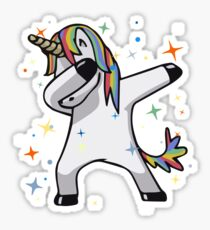 Original Unicorn Dab  Sticker