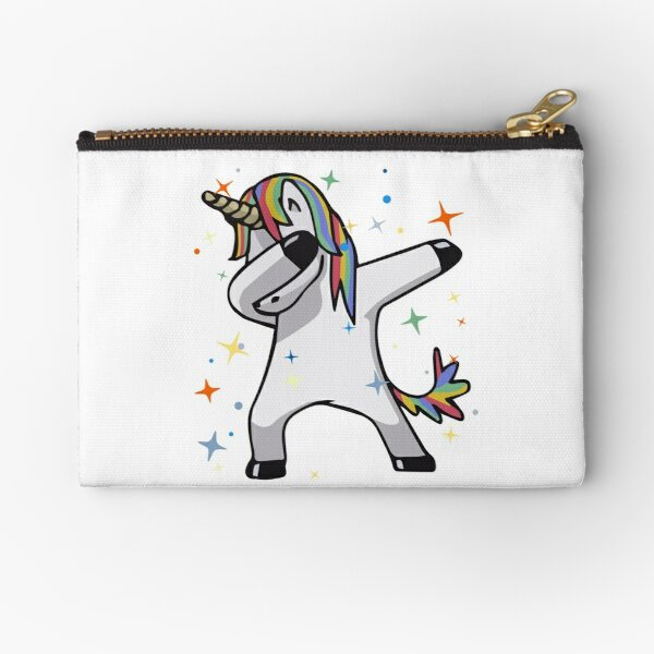 Original Unicorn Dab  Zipper Pouch