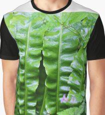 bird's nest fern Graphic T-Shirt