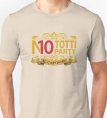 No Totti No Party Unisex T-Shirt