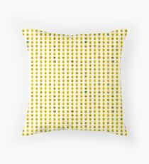 The Many Faces of Lego Throw Pillow