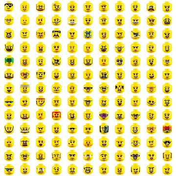 The Many Faces of Lego by wrottenburg