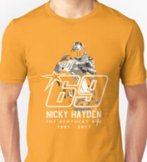 Tribute Nicky Hayden  Unisex T-Shirt