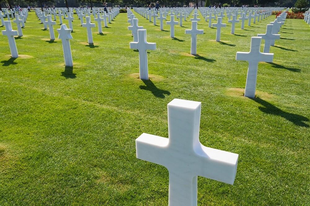 Normandy American Cemetery by JJFarquitectos