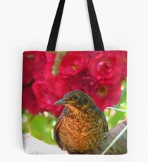 Roses Are Red... Violets Are Blue... - Blackbird - NZ Tote Bag