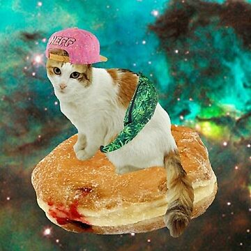 donut munchie cat by taco-elgato