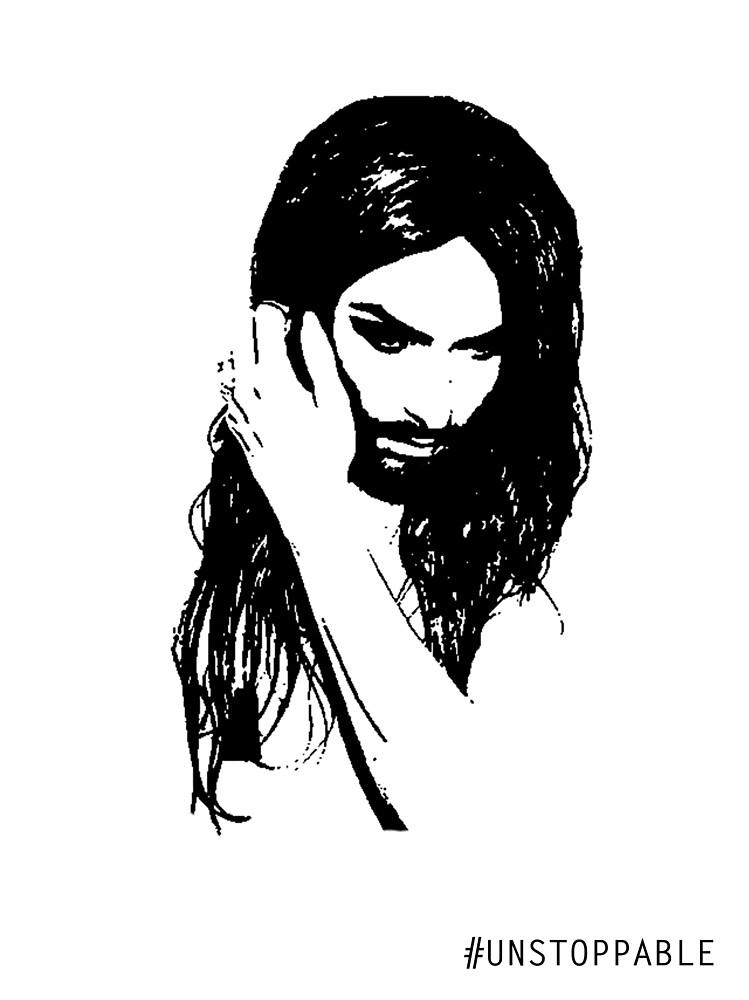 Conchita Wurst - Unstoppable by jeremydwilliams