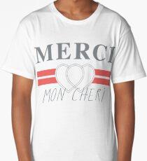 Top Shop Merci Mon Cheri Shirt Long T-Shirt