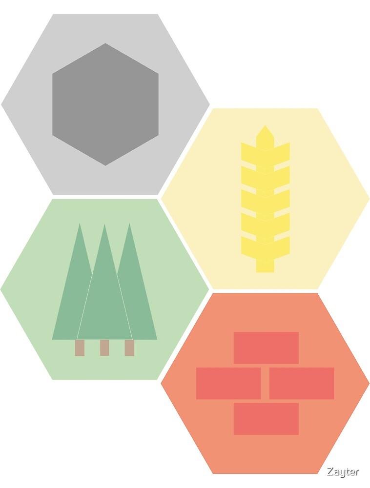 Catan Logos by Zayter