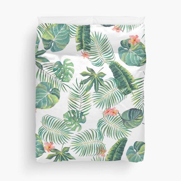 Tropical Leave Pattern Duvet Cover