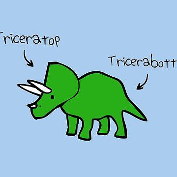 Triceratops Tricerabottom de jezkemp