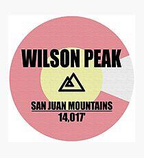 Wilson Peak Photographic Print