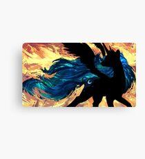 Fire wind Canvas Print